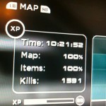Completing Shadow Complex 100% is not a car.