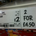 "An Asda ""bargain"" is not a car."