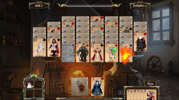 Mystery Game Legends of Solitaire: Curse of the Dragons