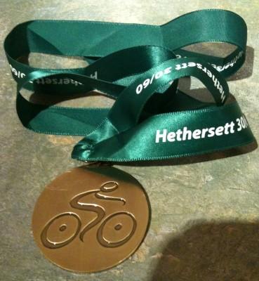 Hethersett 30/60 Medal