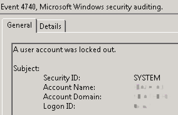 What is locking out my Active Directory user?