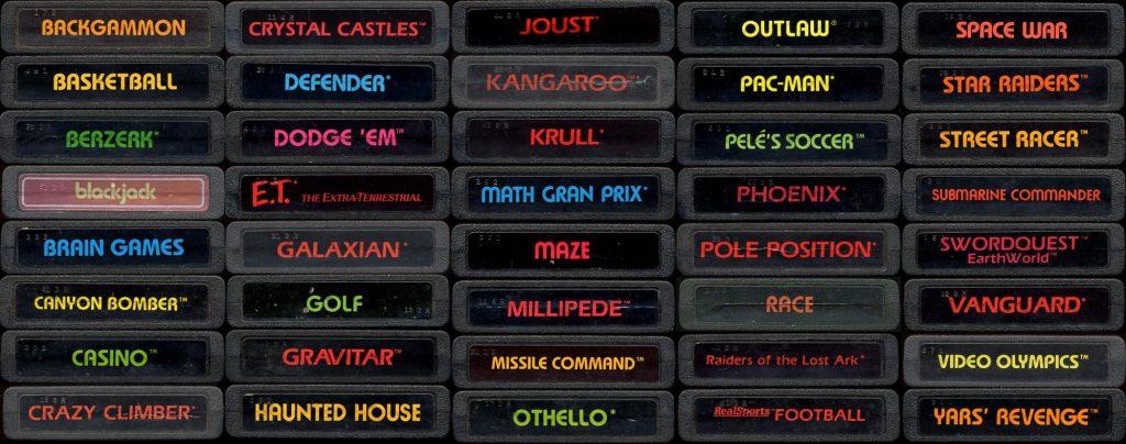 Atari Label Ends