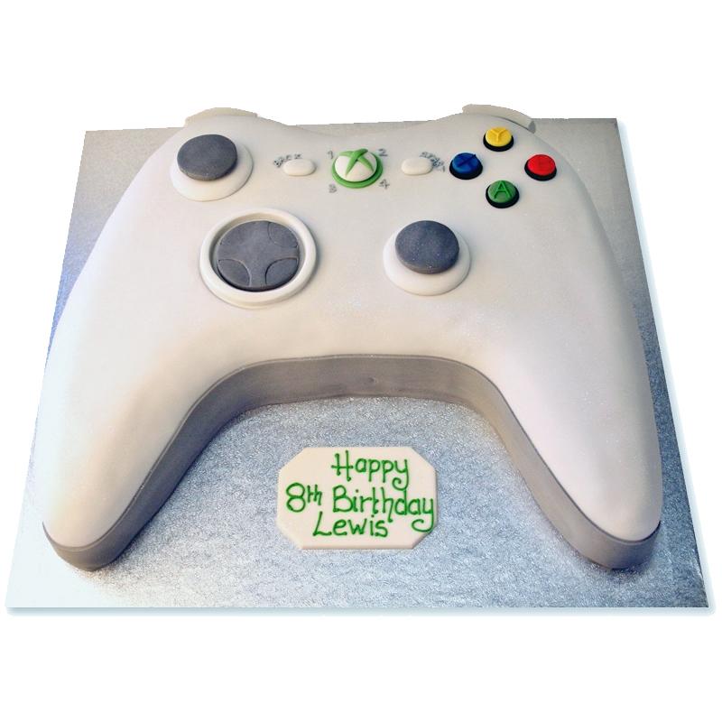 delicious controller cake