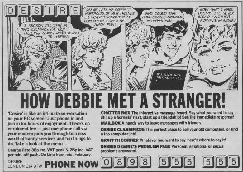 How Debbie Met a Stranger