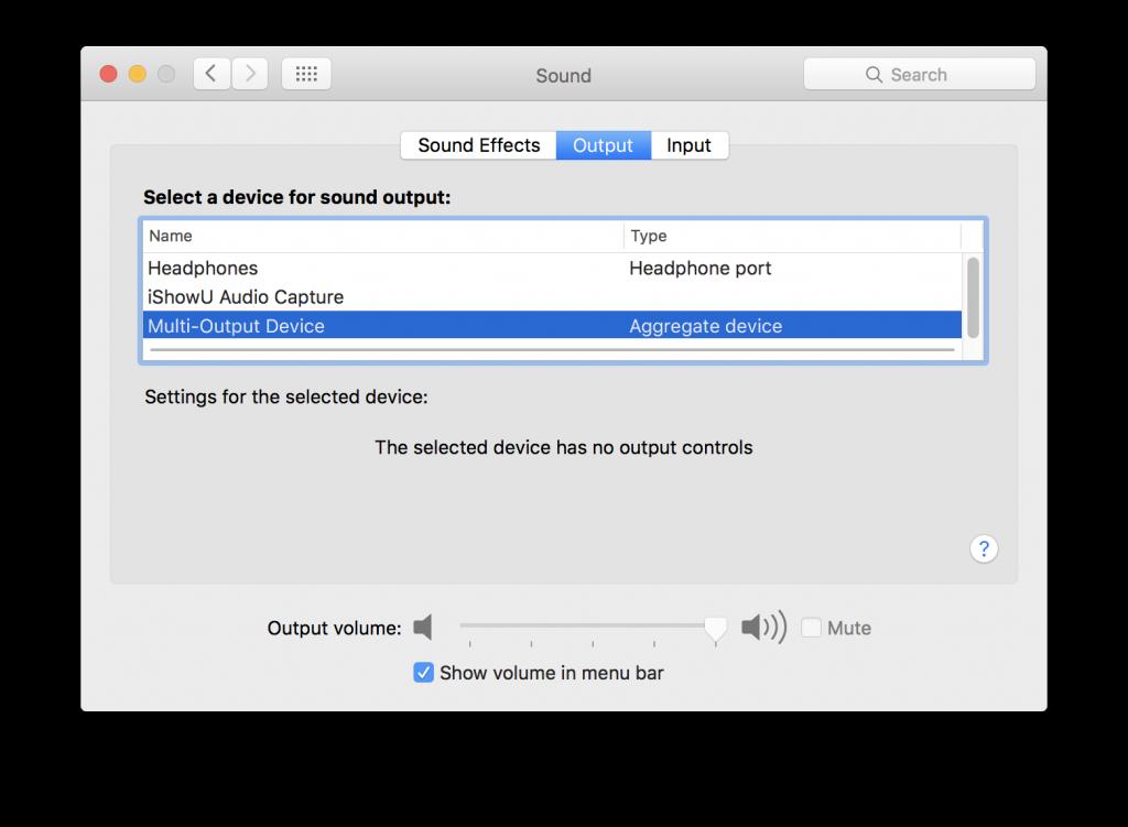 obs mac sound