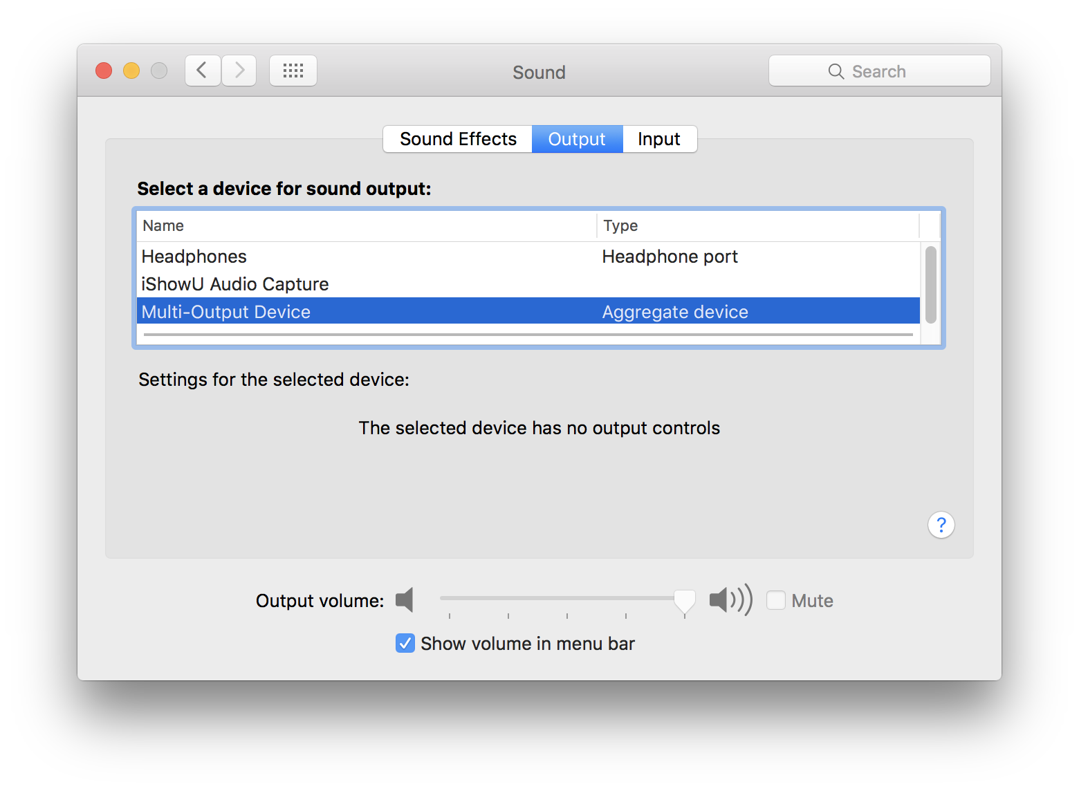 How to capture Mac desktop audio with OBS - deKay's Blog