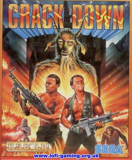 Crack Down (1990). Нажмите, чтобы увеличить.
