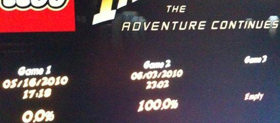 Lego Indiana Jones 2 (360): COMPLETED!