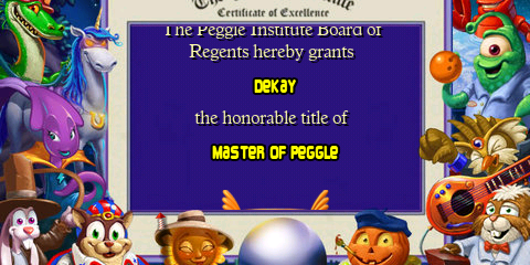 Peggle Nights (iPhone): COMPLETED!