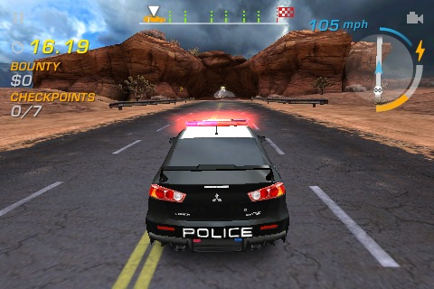 Need For Speed: Hot Pursuit (iPhone)
