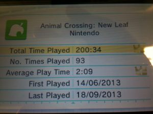 animal crossing 200hrs