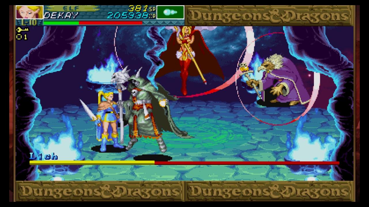 Dungeons & Dragons: Shadow Over Mystara (Wii U): COMPLETED