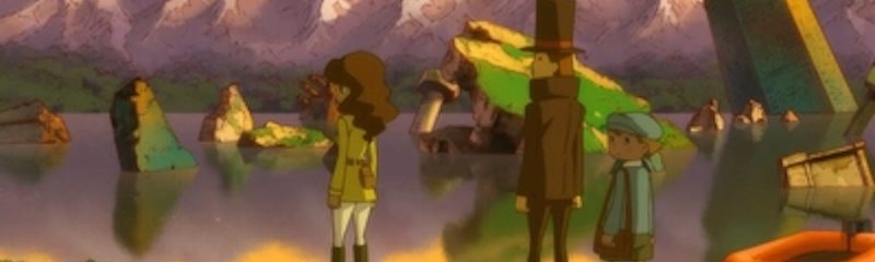 Professor Layton and the Azran Legacy (3DS): COMPLETED!