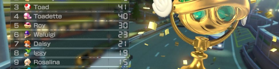 Mario Kart 8 (Wii U): COMPLETED!