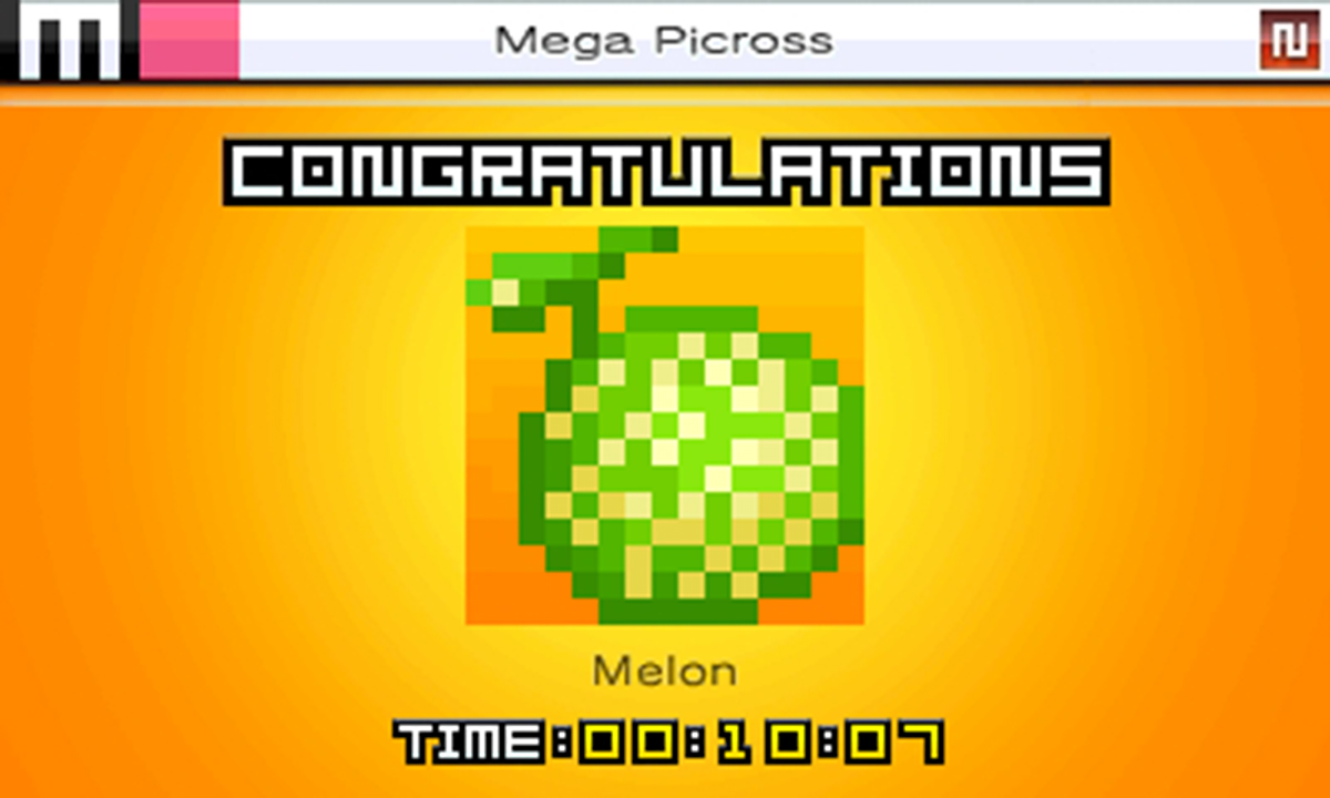 Picross e4 (3DS): COMPLETED!