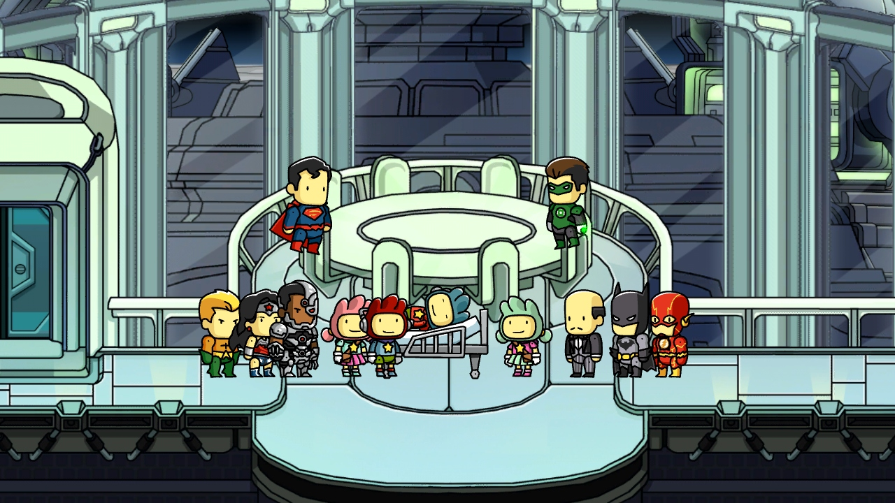 Scribblenauts Unmasked: A DC Comics Adventure (Wii U): COMPLETED!