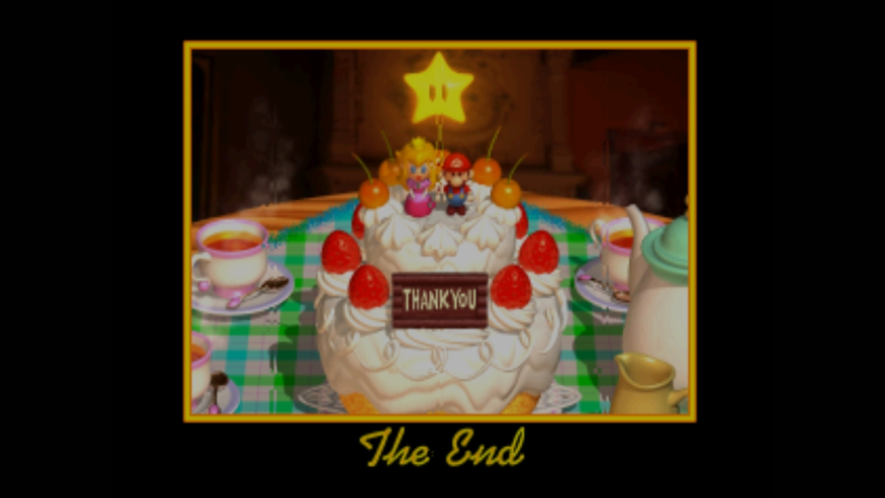 Super Mario 64 (Wii U): COMPLETED!
