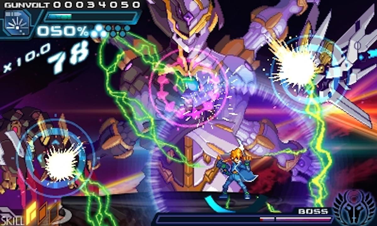 Azure Striker Gunvolt (3DS): COMPLETED!