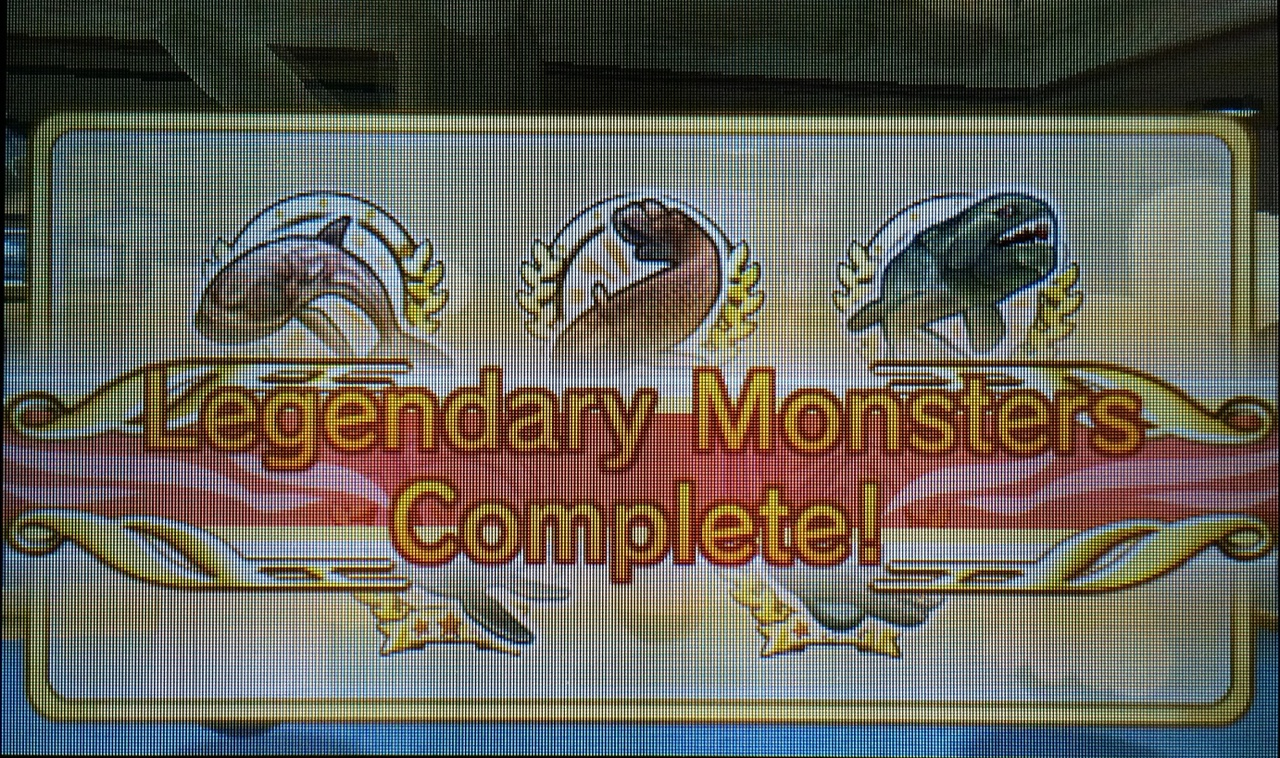 StreetPass Fishing (3DS): COMPLETED!