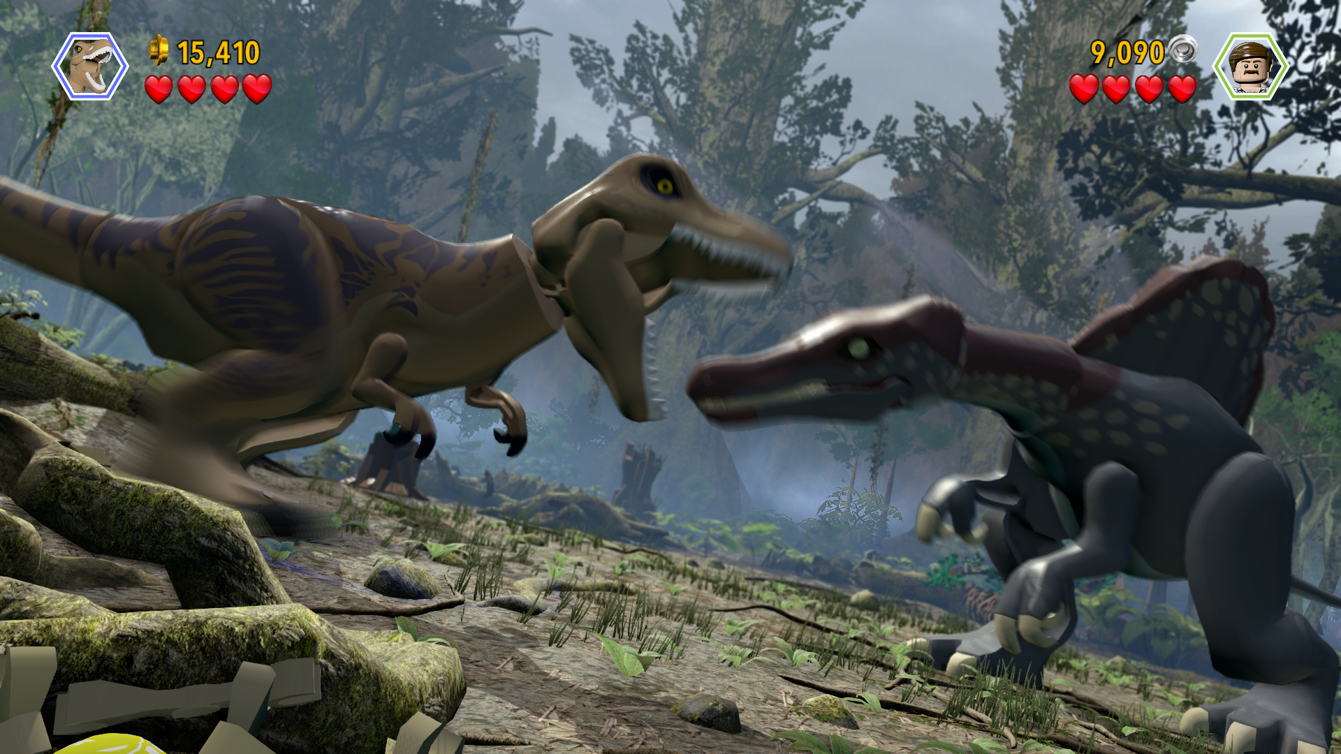 Lego Jurassic World (PS4): COMPLETED!