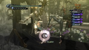 Bayonetta: Literally kicking bottom