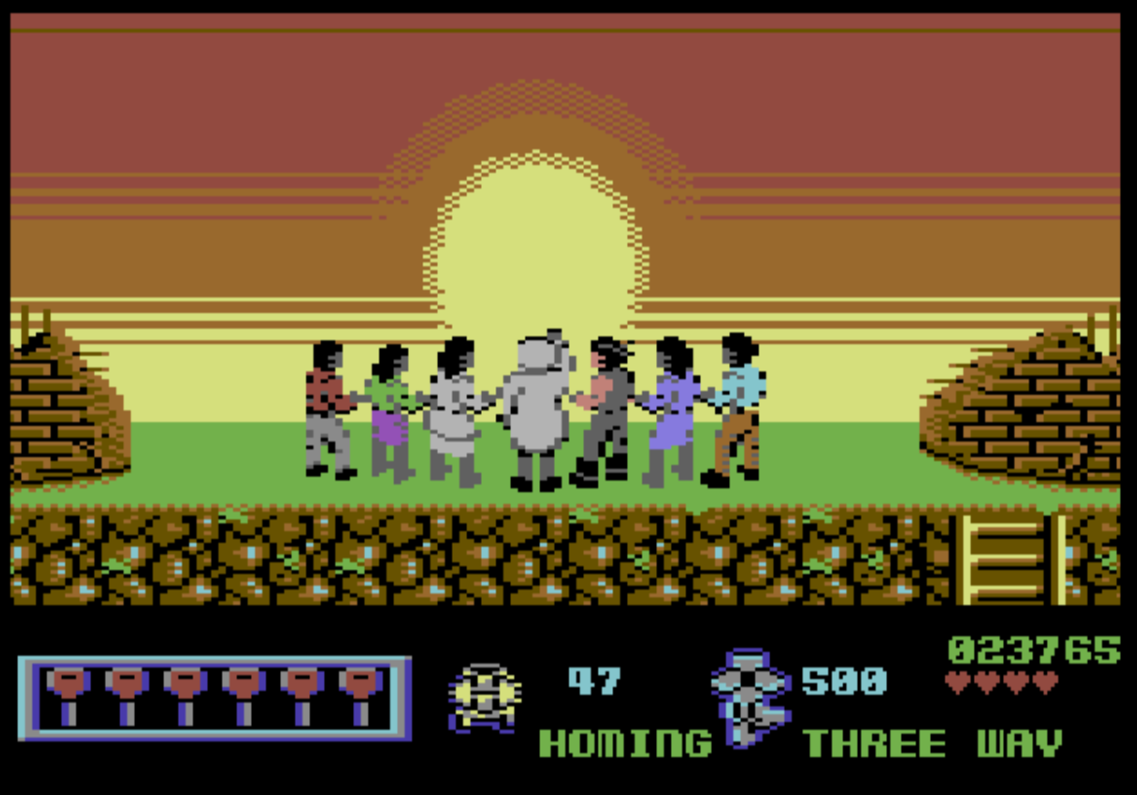 Midnight Resistance (C64): COMPLETED!