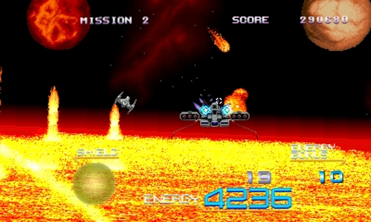 3D Galaxy Force II (3DS): COMPLETED!