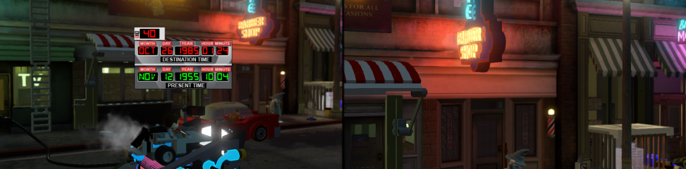 Lego Dimensions: Back to the Future (PS4): COMPLETED!