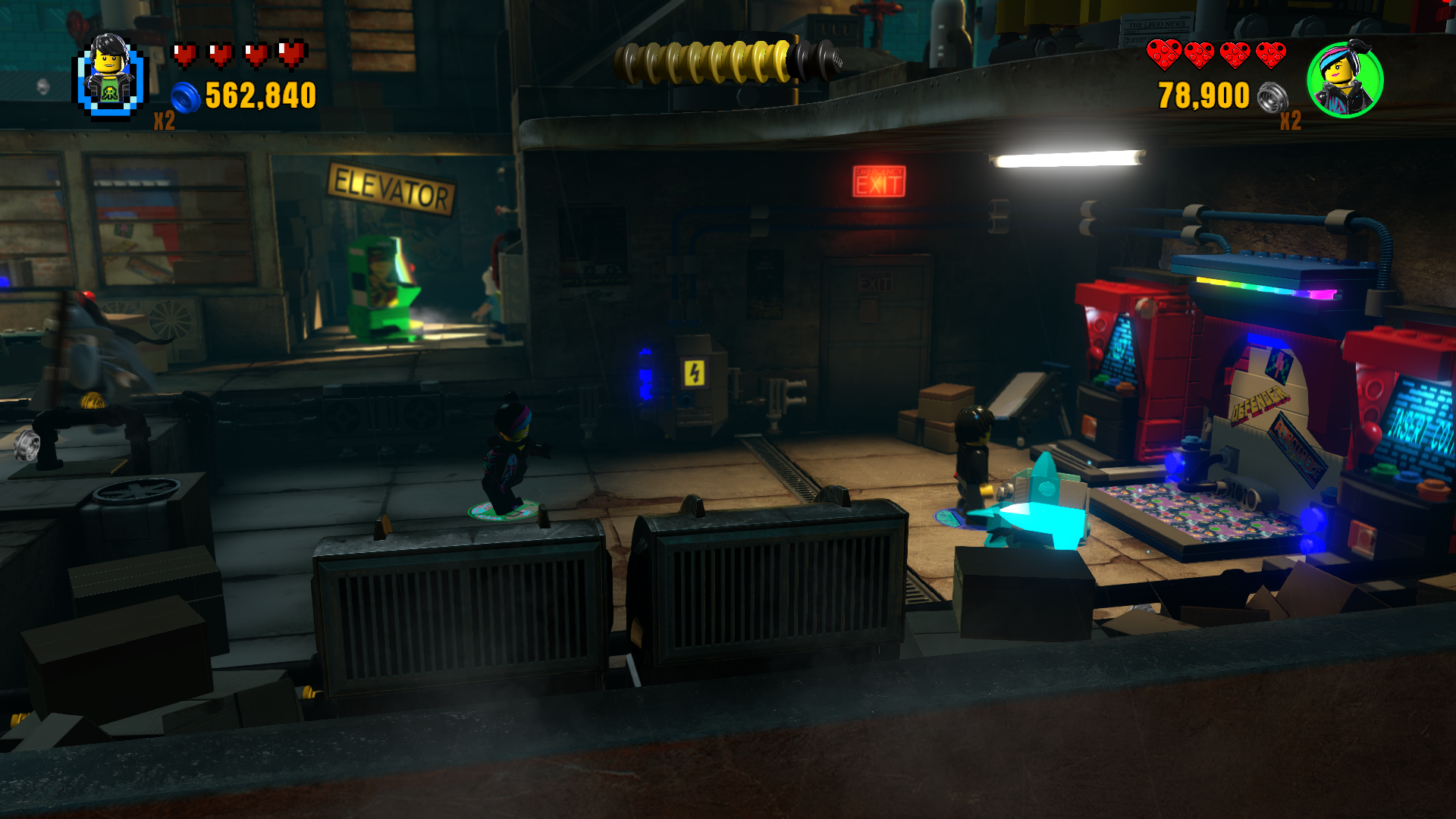 Lego Dimensions: Midway Arcade (PS4): COMPLETED!
