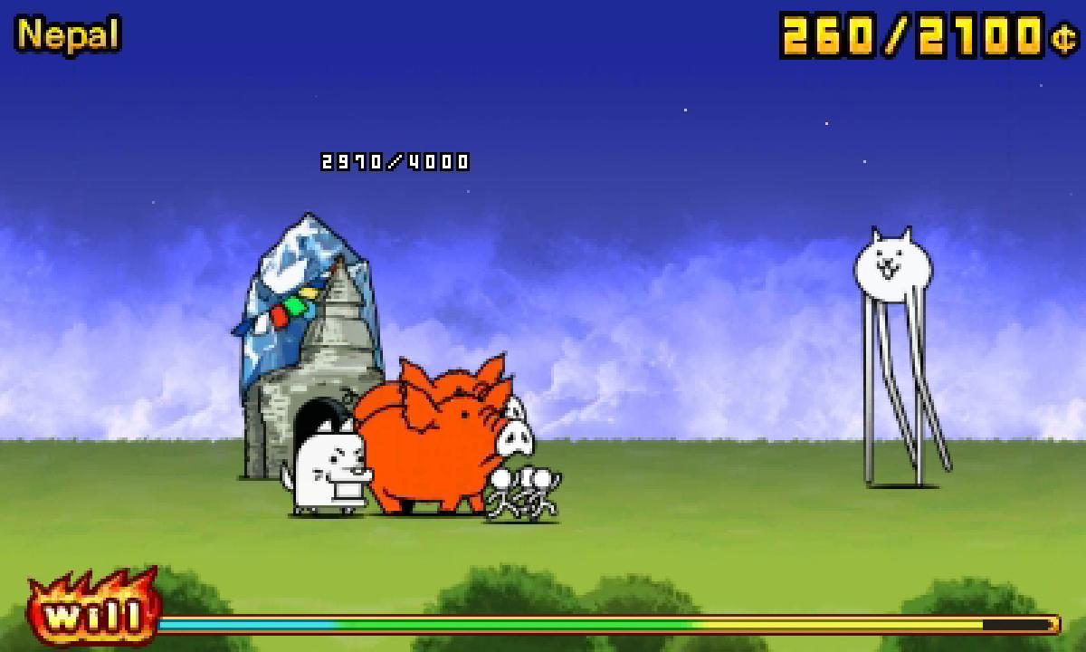The Battle Cats POP! (3DS)