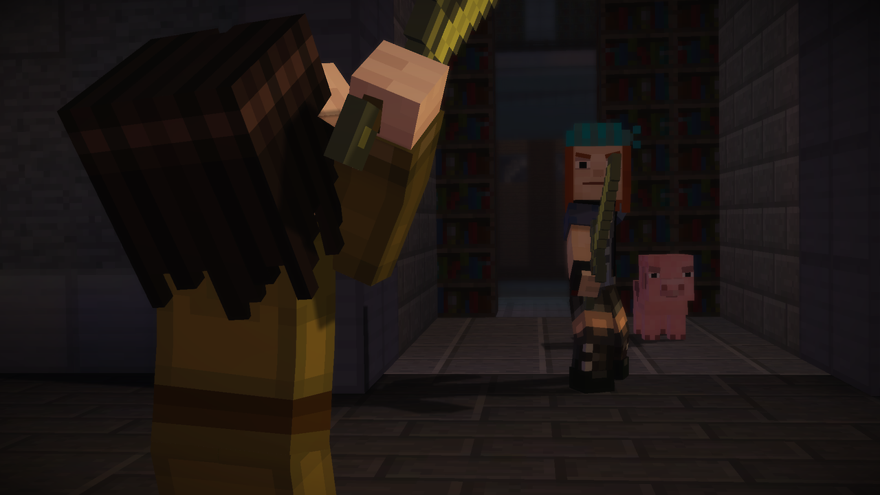 Minecraft: Story Mode – Episode 2 (PS4): COMPLETED!