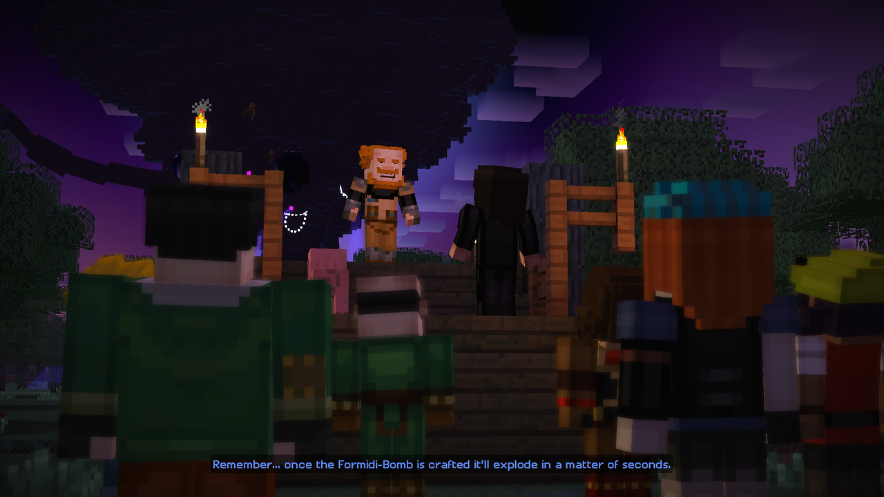 Minecraft: Story Mode – Episode 3 (PS4): COMPLETED!
