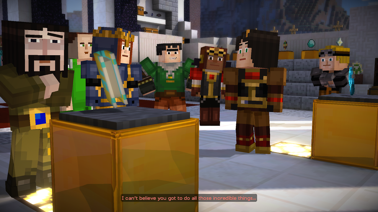 Minecraft: Story Mode – Episode 8 (PS4): COMPLETED!