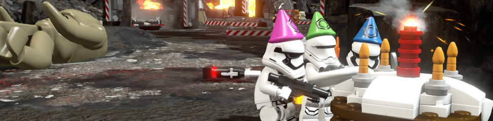 Lego Star Wars: The Force Awakens (PS4): COMPLETED!