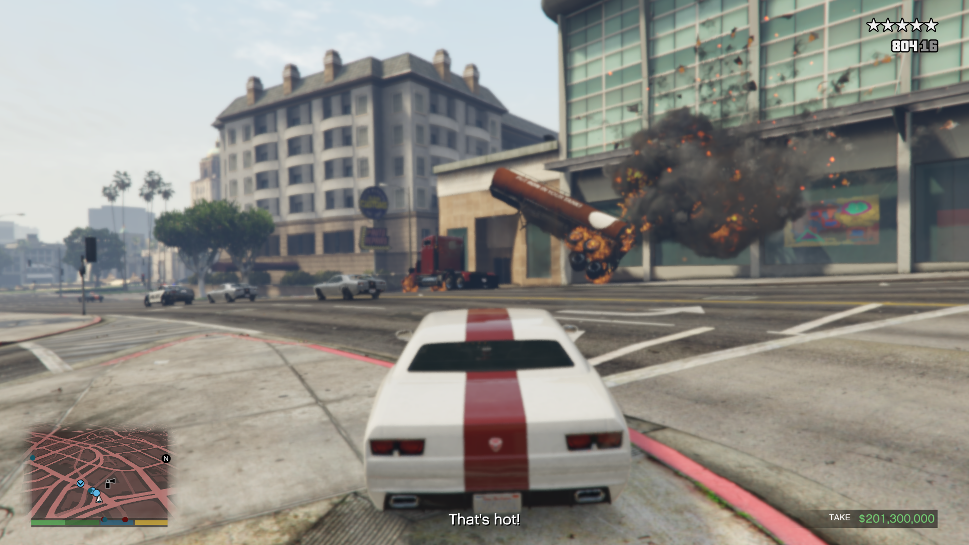 Grand Theft Auto V (PS4): COMPLETED!