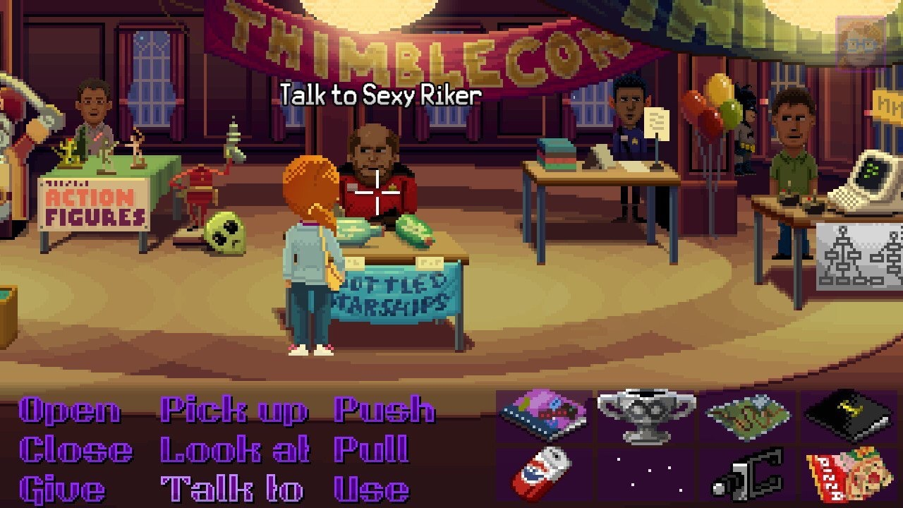 Thimbleweed Park (Switch): COMPLETED!
