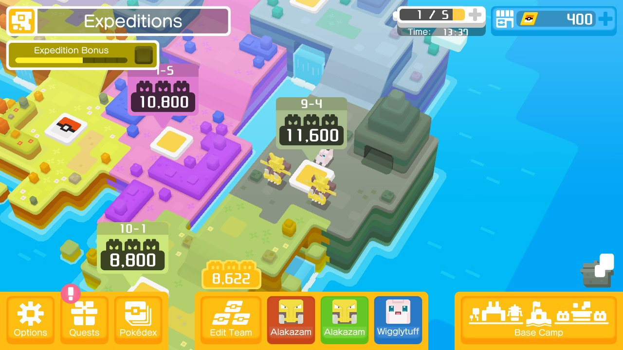 Pokémon Quest (Switch): COMPLETED!