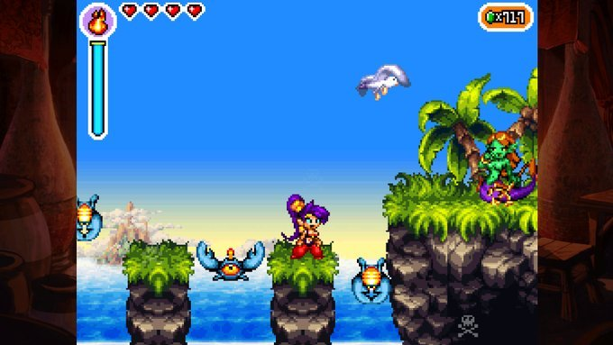 Shantae: Risky's Revenge – Director's Cut (PS4): COMPLETED!