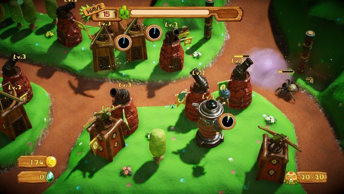 PixelJunk Monsters 2 (Switch): COMPLETED!