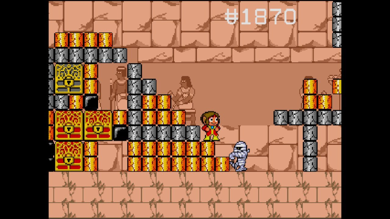 Alex Kidd in the Enchanted Castle (Switch): COMPLETED!