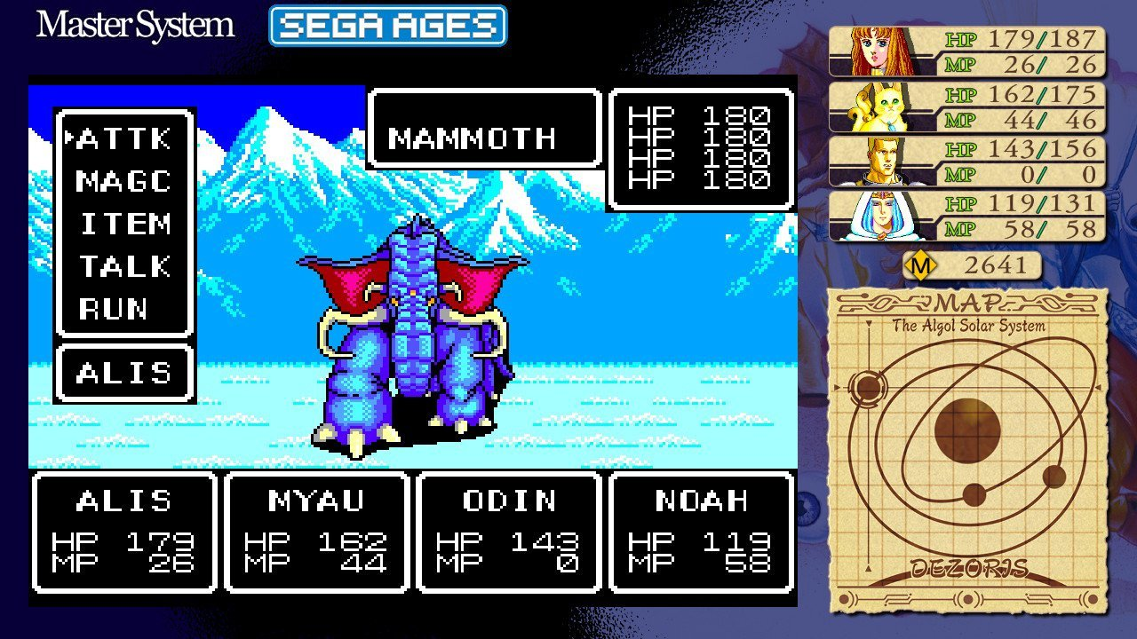 Phantasy Star (Switch): COMPLETED!