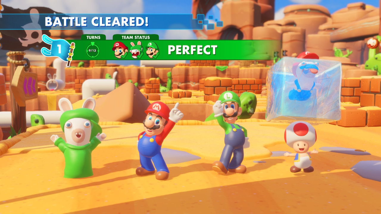 Mario + Rabbids Kingdom Battle (Switch): COMPLETED!