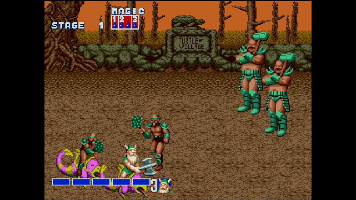 Golden Axe (Switch): COMPLETED!