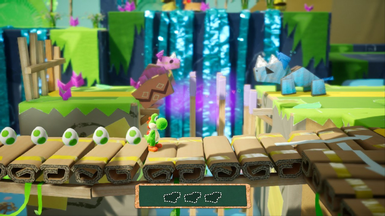 Yoshi's Crafted World (Switch): COMPLETED!