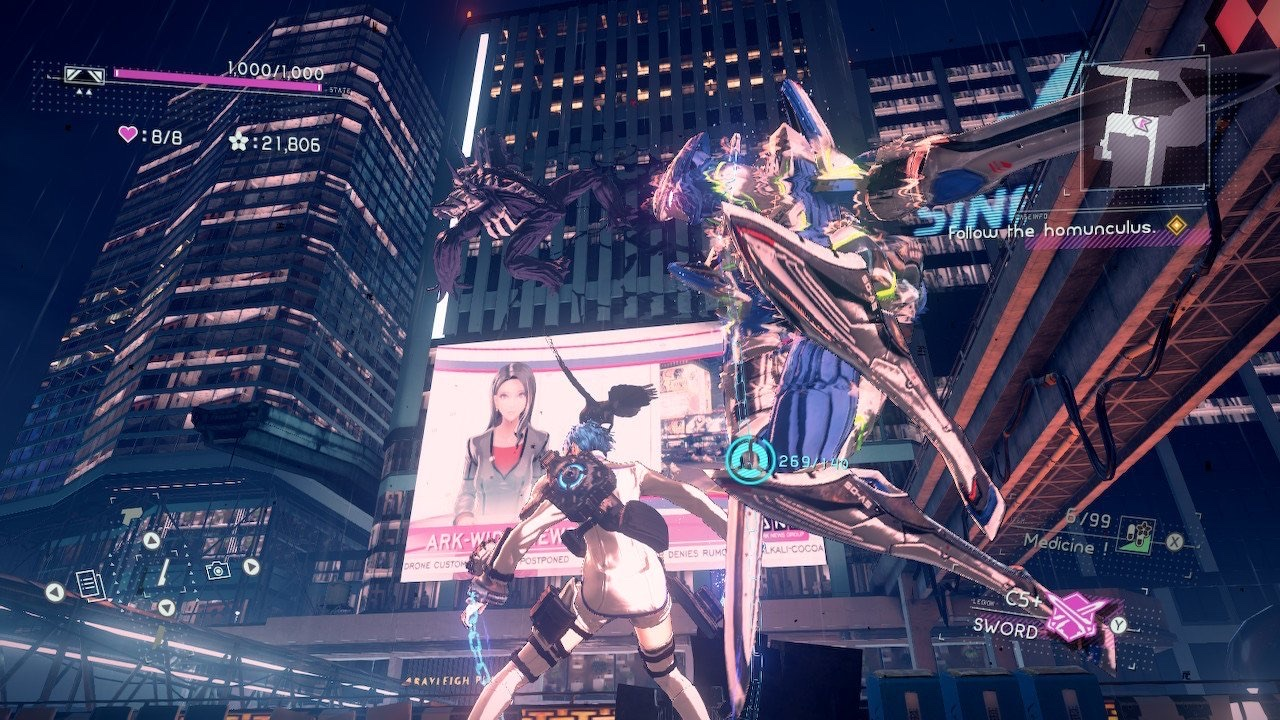 Astral Chain (Switch): COMPLETED!