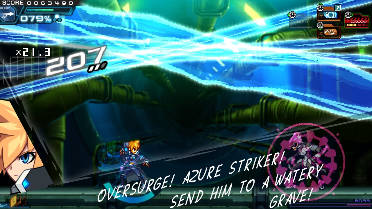 Azure Striker Gunvolt 2 (Switch): COMPLETED!