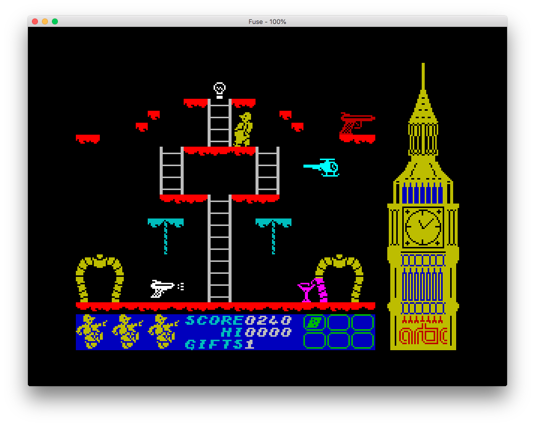 Big Ben Strikes Again (Spectrum): COMPLETED!