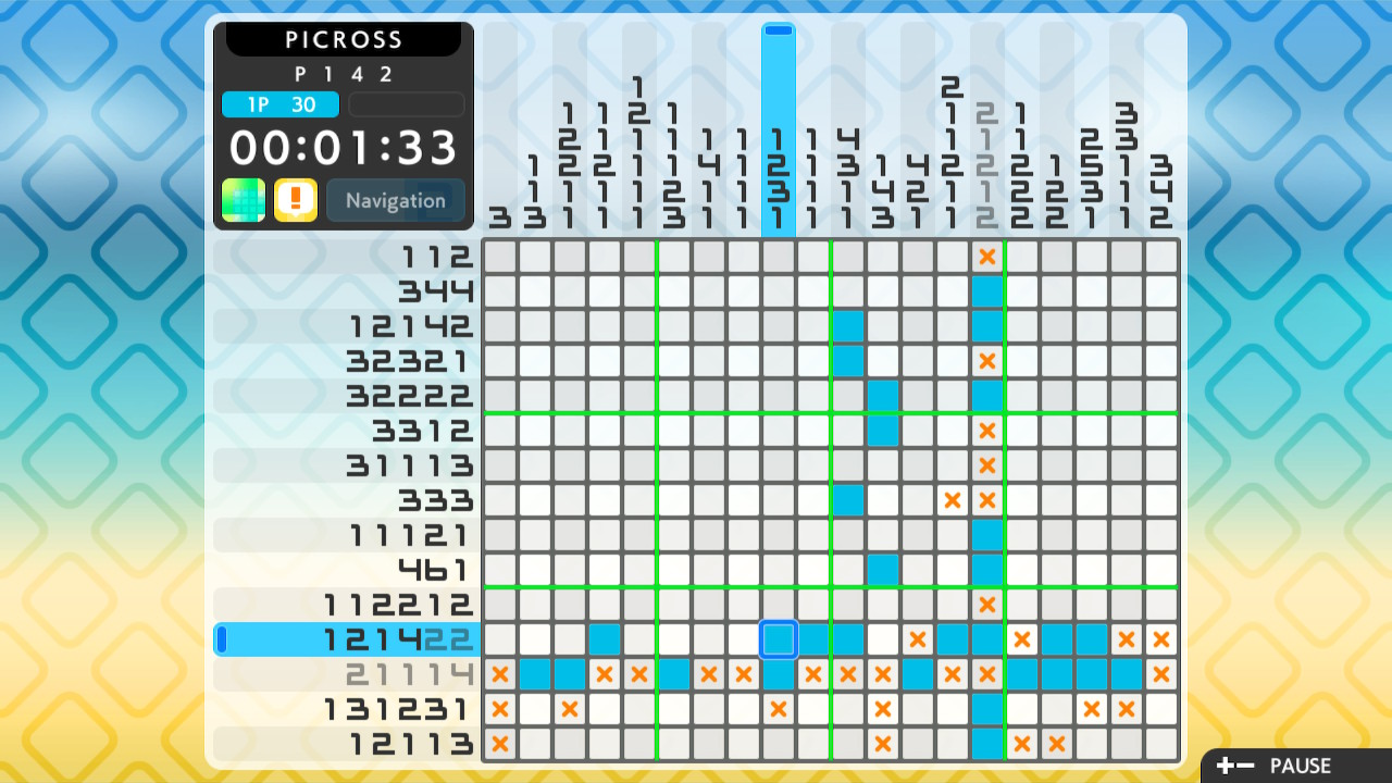 Picross S2 (Switch): COMPLETED!