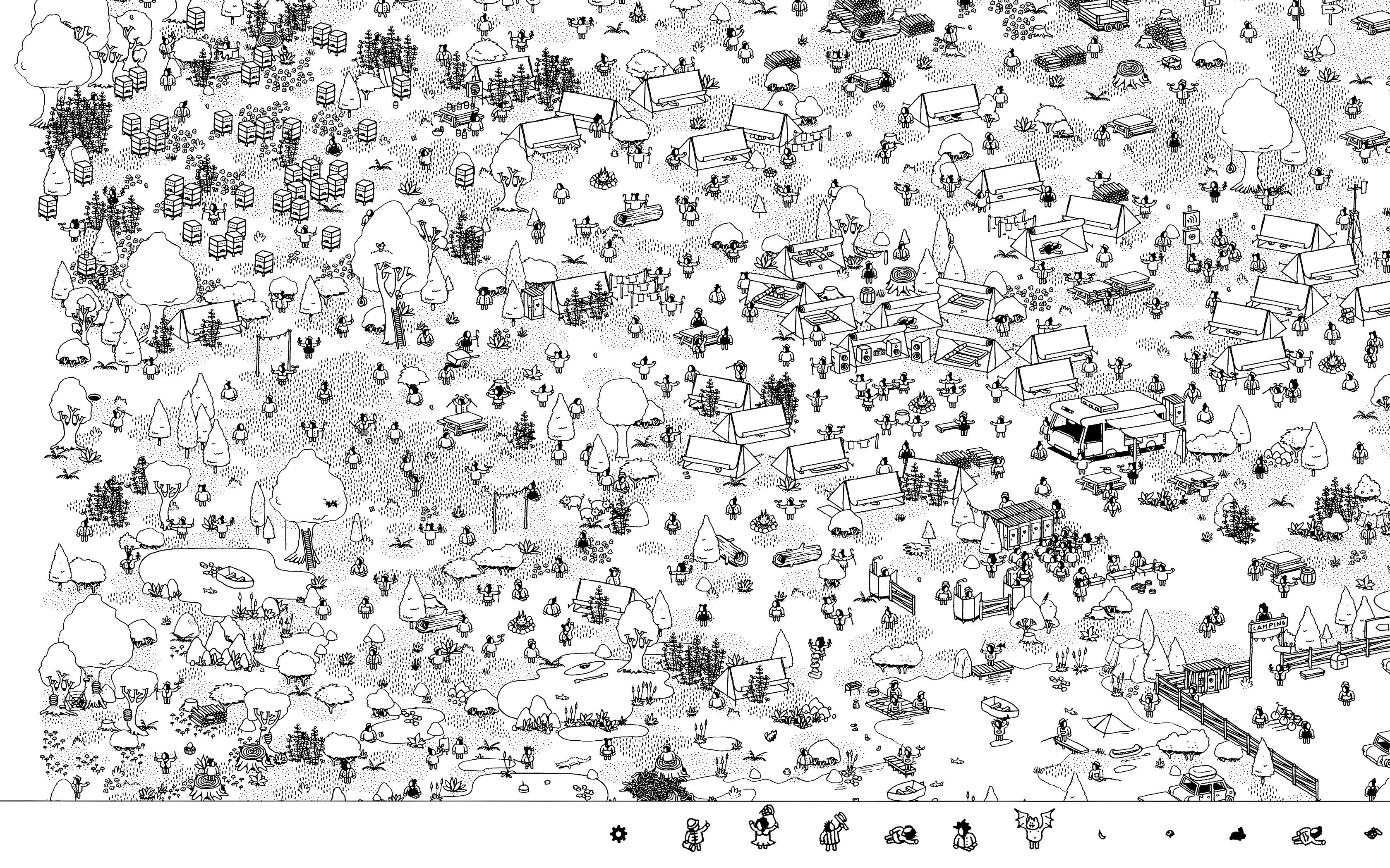 Hidden Folks (Mac): COMPLETED!