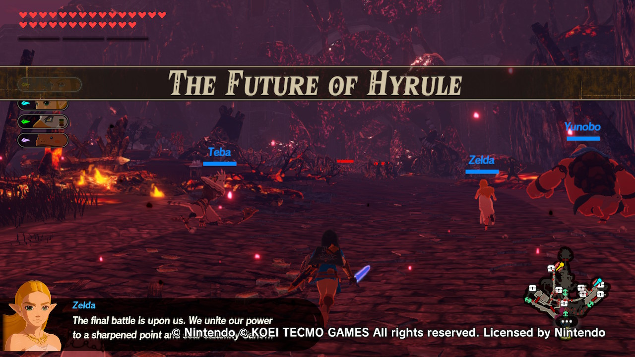 Hyrule Warriors: Age of Calamity (Switch): COMPLETED!